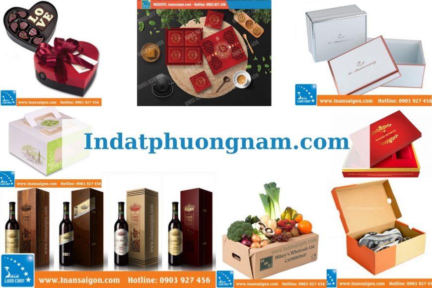 tổng hợp hộp giấy sản xuất theo yêu cầu